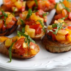 Tomato Bruschetta How to make our favorite homemade bruschetta with tomatoes and basil. Plus, five easy tips for how to make it best.How to make our favorite homemade bruschetta with tomatoes and basil. Plus, five easy tips for how to make it best. Appetizers For A Crowd, Seafood Appetizers, Appetizer Recipes, Mini Appetizers, Prociutto Appetizers, Individual Appetizers, Bridal Shower Appetizers, Cucumber Appetizers, Antipasto