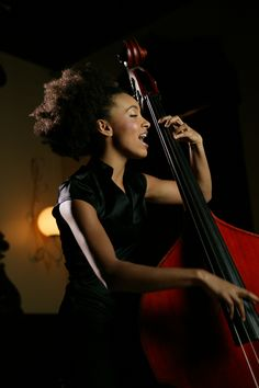 Esperanza Spalding - A beautiful woman with an extraordinary gift