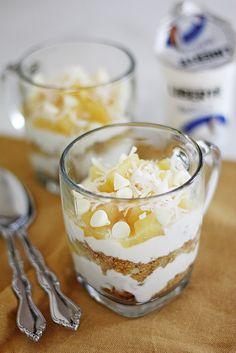 pineapple-macadamia nut parfait + liberte coconut yogurt - Girl Versus Dough