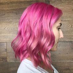 bubblegum pink hair dreams