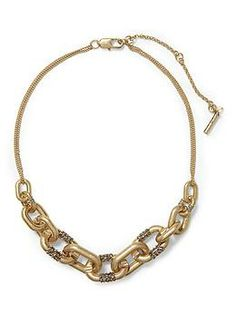 Kenneth Cole New York Pave Link Frontal Necklace | Piperlime