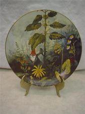 Rien Poortvliet Kabouters Plate Four Seasons Summer Gnome De Bloom                                     lb xxx.