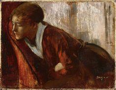 Edgar Degas (1834– 1917) Melancholy, late 1860's