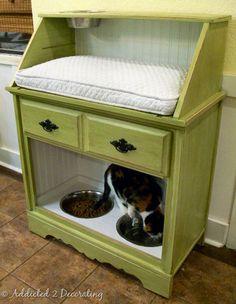 Móveis adaptados para pets
