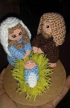 Guarda questo articolo nel mio negozio Etsy https://www.etsy.com/it/listing/490789831/nativita-amigurumi-crochet
