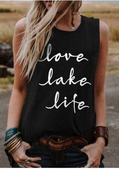 cf97db55c2e7 Love Lake Life Tank in 2019