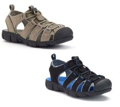 7d440fb949f25 SONOMA Goods for Life Boys Sport Sandals kids sizes 13 1 2 3 4 5 NEW
