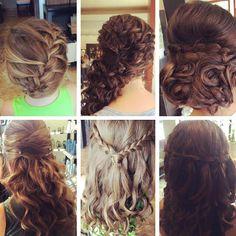 Bridal Party at Bella Dolche Salon and Spa Everett WA