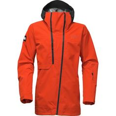The North Face Ceptor Jacket -Fall Tibetan Orange/tnf Black Mens Ski Wear, Winter Jackets, Winter Coats, Nike Jacket, Skiing, Hooded Jacket, The North Face, Menswear, How To Wear