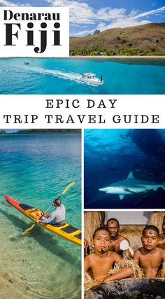 Epic Day Trips from Denarau, Fiji.  Denarau has tons of attractions that you can enjoy and be spellbound for the years to come. This little piece of Fiji is known for its luxury hotels and oceanside resorts that fringe the island's coastline. Shopping arcades, restaurants, bakeries, salons and even an 18-hole golf course – you name it and Denarau Fiji has it.. Here are 11 epic day trips from the island that you can look forward to during your stay at #Denarau #Fiji Click to read more.