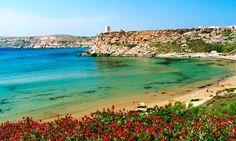 Ghajn Tuffieha is called Malta's Riviera