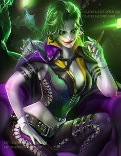 Tje joker female version