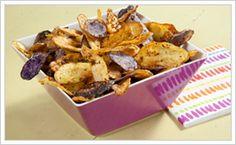 #TastefulSelections  Fingerling Potato Chips, #tastefulselections, #potatoes
