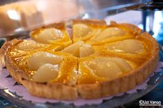 Pear pie, Ihana Kahvila, Helsinki, Finland