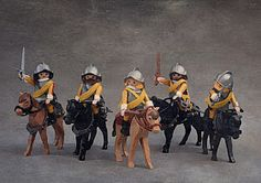 XVII CENTURY CUSTOM PLAYMOBIL CAVALRY Old Toys, Legos, Miniatures, Musketeers, Fun, Collections, Shawl, Dioramas, Warriors