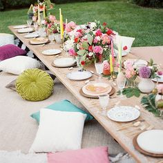 13 Ideas for a Bangin' Boho-Inspired 31st Birthday Party | Brit + Co