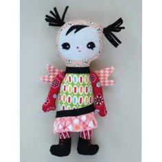 Melly & Me Freya Doll Sewing Pattern