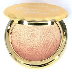 """Saleha Beauty • Saleha Beauty GIVE ME GLOW Highlighter in """"ICONIC BRONZE"""" • $29 • use code: DYF15 for 15% off!"""