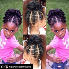 Kids hairstyles i can do Lil Girl Hairstyles, Natural Hairstyles For Kids, Kids Braided Hairstyles, Princess Hairstyles, My Hairstyle, Children Hairstyles, Hairstyle Ideas, Toddler Hairstyles, Top Hairstyles