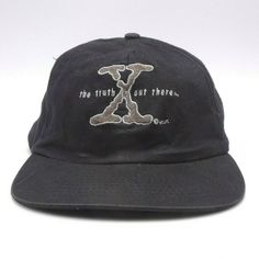 55f2a2d596cba X Files hat - Unstructured Snapback cap - The Truth is Out There  Mohrs