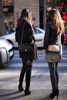boots, heels, tights, jacket, purses, black, fashion, fall, winter
