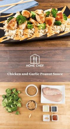 Ready to Thai one on with this garlic-ginger peanut sauce? This creamy, zesty peanut sauce is a perfect accompaniment to chicken and whole-grain brown rice. Quick and healthy eating never tasted so good.