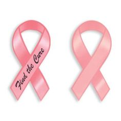 Breast Cancer Awareness Find the Cure Magnetic Ribbon #magnet #BreastCancer