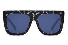 901d587957 Quay Cafe Racer Black Tortoise   Blue Sunglasses