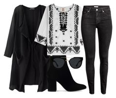 """""""Untitled #281"""" by a-del-c on Polyvore featuring Figue, Gianvito Rossi and Quay"""