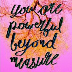 You are powerful beyond measure! To learn this all you must do is act from your heart's purest intentions!   #letteringdesign #letteringdaily #handlettering #ipadlettering #februaryreign #youarebeautiful #youarepowerful #typography #graphicdesign