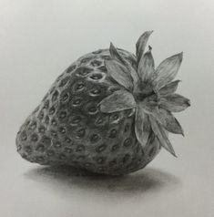 52 Fruit And Vegetable Drawing Ideas - Art Realistic Pencil Drawings, Graphite Drawings, Pencil Art Drawings, Drawing Sketches, My Drawings, Drawing Ideas, Shading Drawing, Charcoal Drawings, Still Life Sketch