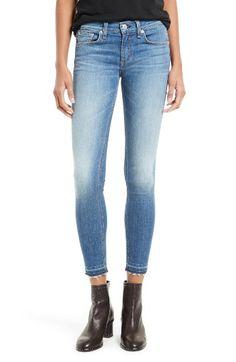 bc2041adf0f Free shipping and returns on rag  amp  bone JEAN Capri Skinny Jeans (Clean