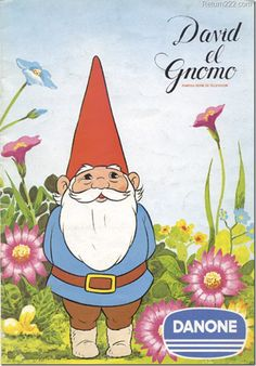 Vintage album 'David the gnome' / Album 'David el gnomo' de Danone Cartoon Tv, Cartoon Characters, David The Gnome, Party Fiesta, Morning Cartoon, 90s Nostalgia, My Childhood Memories, Childhood Toys, Sweet Memories