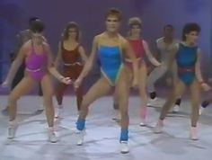 The Vintage '80s Workout! perfect for 80's day!