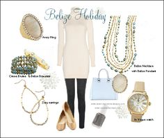Premier Designs Holiday 2014 Collection ~ Avery ring, Belize & Creme Brulee bracelets, Zoey earrings, In Vogue watch, Belize Necklace with Avery Pendant.