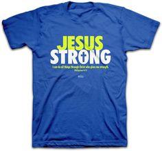 Kerusso Jesus Strong Christian T-Shirt