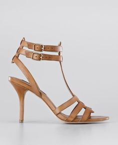 8e0cb4948d4 Darcy Leather High Heel Sandals Leather High Heels, Leather Sandals, Heeled  Sandals, Summer