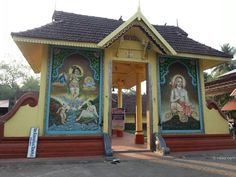 Had been to Kalady in Kerala, the birthplace of Sri Adi Shankaracharya. Above photo is of the only surviving structure from the time of Sri Shankara - a temple dedicated to Sri Krishna. This temple is the ancestral deity of Sree Shankara Acharya.