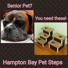 Beautiful Dog Steps Large Designer Dog Stairs Perfect By HamptonBayPetSteps | Etsy  Cyber Sales! | Pinterest | Dog Stairs, Dog Steps And Pet Stairs