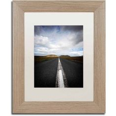 Trademark Fine Art 'Don't Think Twice' Canvas Art by Philippe Sainte-Laudy, White Matte, Birch Frame, Size: 16 x 20, Multicolor