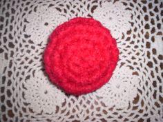 Crocheted Tulle Scrubbie