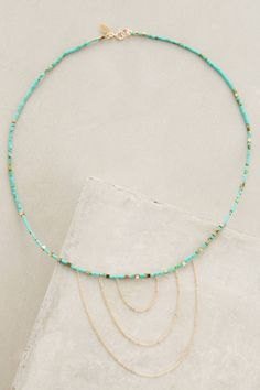 Sunrise Necklace #anthrofave #anthropologie