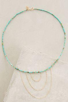 Sunrise Necklace #anthrofave #anthropologie