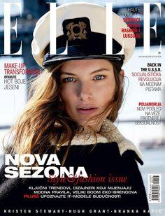 Elle Croatia September 2016 Cover