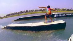 Daniel Grant 2013 on Vimeo  Few laps with the amazing Daniel Grant  #wakeskate #wakeskating #slowmo