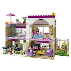 Lego Friends Girls Would Love ~ The Lego Universe has expanded and added Girl Power! You can find all the best Lego Friends Girls building blocks here for your innovative child. Legos, Chat Origami, Lego Friends Sets, Friends Girls, Friends Series, Lego Activities, Lego Craft, Lego System, Building Blocks Toys
