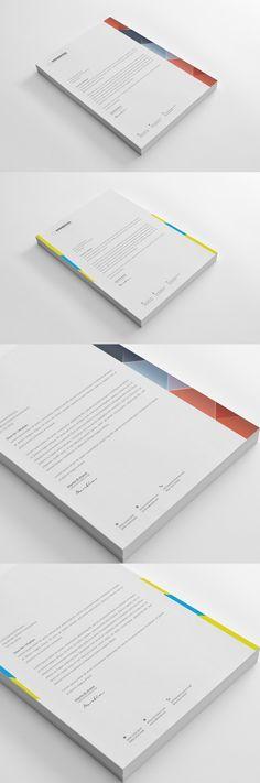 Letterhead Pinterest Stationery templates, Adobe photoshop and Adobe - letterhead example