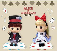 DDUNG & BONG-GU Alice in Wonderland Couple