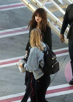August 8: Selena arriving at Sydney International Airport in Sydney, Australia