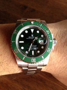 Rolex Submariner Green Ceramic